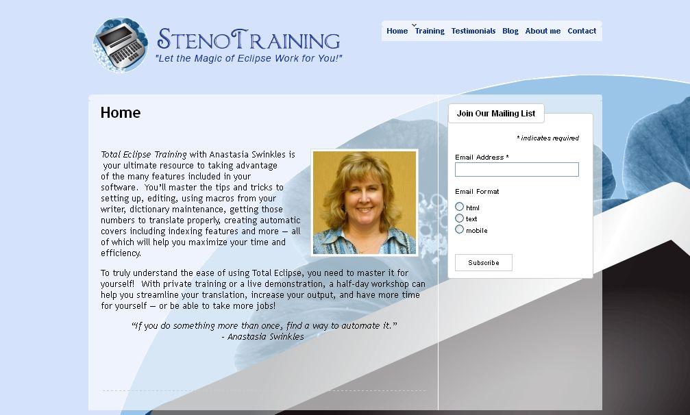 Steno Training
