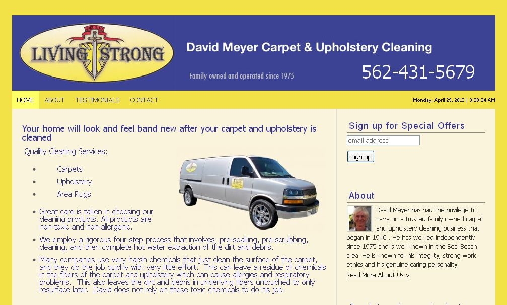 Living Strong Carpet Cleaning